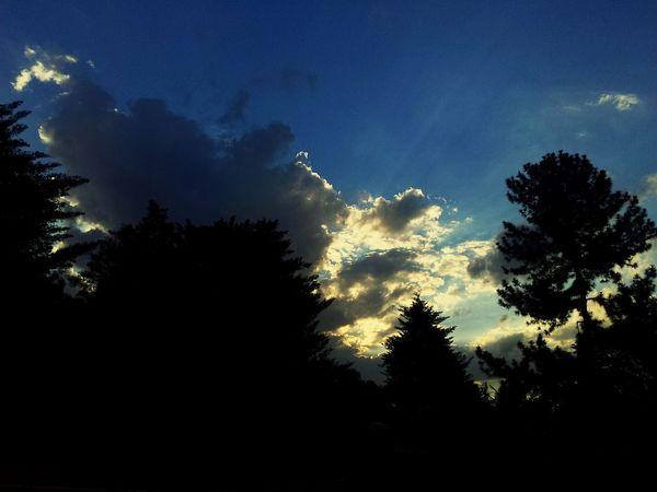 Sky Skyporn Sun Clouds Nature Blue Yellow Brazil Nuvens CeuAzul