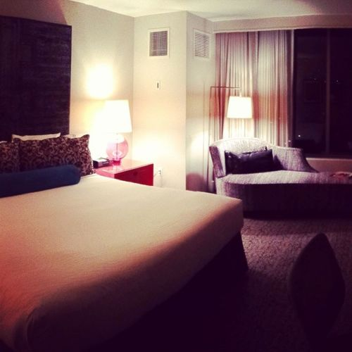 Home for the next 10hrs Hotel Palomar La UCLA