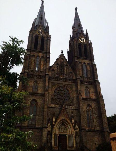 Chiesa di Santa Ludmilla Church Prague Me Around The World Traveling Taking Photos Eye4photography  Europe Czech Republic Praha