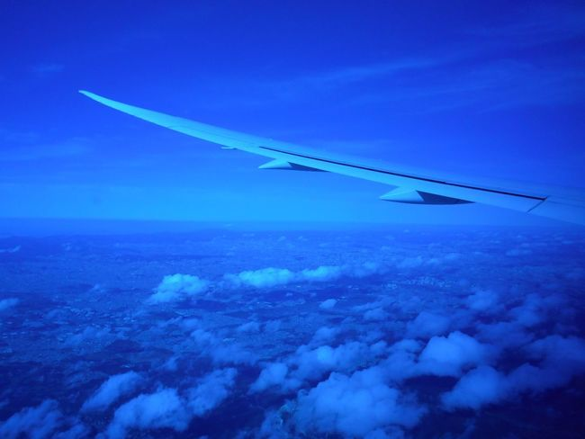 Highest Point In The Universe - Close To The Universe - Touch The Sky #EyeEmReady EyeEm Ready   Susan A. Case Sabir Suspension Touch The Sky Unretouched Photography Aerial Photography Aerial View Airplane Wing Blended Together Blue Blue Universe Blue World Close To The Universe Early Morning Over The World Floating In The Sky Flying In The Sky Flying Over Brazil No People Over The World Peace With The Universe Peaceful Seamless Pattern Suspended In The Air Universal Feeling