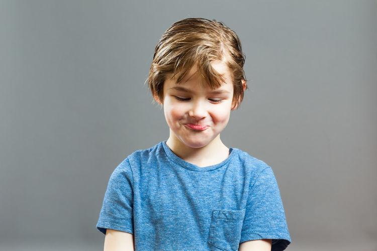 Five year old boy emotion series Boy Child Emotions Expression Face Feelings Kids Lips #love #smile #pink #cute #pretty Mischievous Mouth People Portrait Preschooler Rascal Schmollen