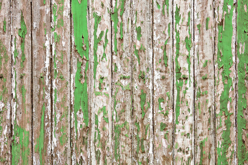 The old wooden wall painted with pale green color cracking, peeling and revealed the spike nail and rustic wood texture Paint Panel Wall Wood Aged Backdrop Background Board Cracked Dirty Fence Grunge Lath Old Pale Pattern Peel Peeling Rough Rusty Striped Texture Timber Wallpaper Wooden