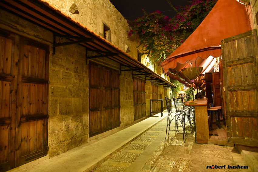 Architecture Built Structure No People Building Exterior Old House Byblos,Lebanon Byblos Stone Wall Old Buildings Illuminated Architecture History Building Wall - Building Feature Ruins Night Lights Nightphotography Ruins Of A Castle Byblos Phoenician Port