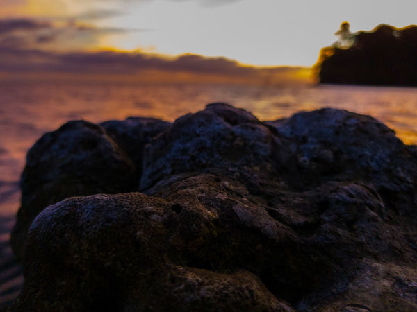 Rock - Object Nature No People Sunset Lava Landscape Outdoors Beauty In Nature Day Sky Close-up