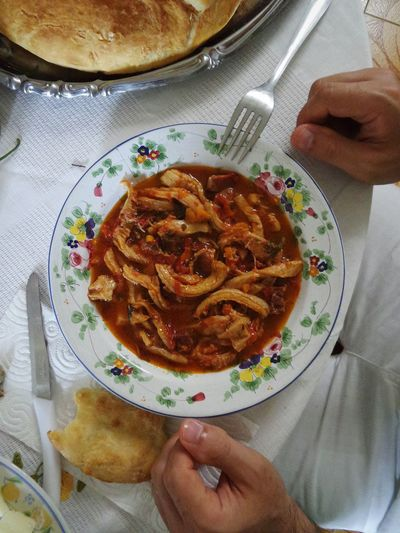 Italy Abruzzo - Italy Abruzzo Italian Food Italian Tradition Italian Recipe Trippa Trippa Alla Pennese Traditional Food Ancient Cuisine Ancient Culture Maiolicas Ceramiche Ceramiche Di Castelli Eating Good Eating In Abruzzo Colour Of Life A Bird's Eye View