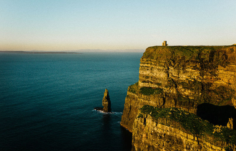 35mm Beauty In Nature Cliffs Of Moher  Day Horizon Over Water Ireland Kodak Leica M9 Nature No People Ocean Outdoors Scenics Sea Sea And Sky Sky Sunset Tranquility VSCO Water