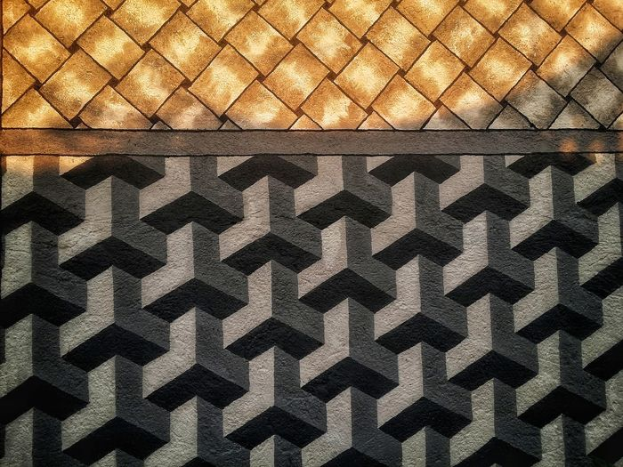 Minimalistic pattern Pattern Seamless Pattern Backgrounds Full Frame Day Textured  Outdoors Close-up No People