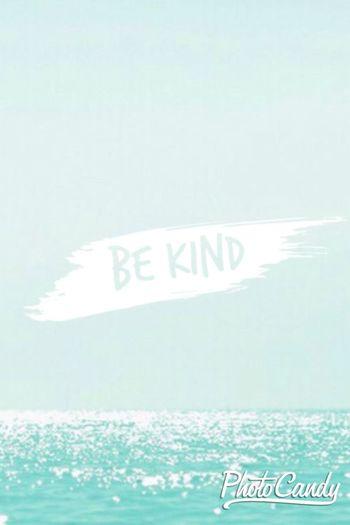 be kind people