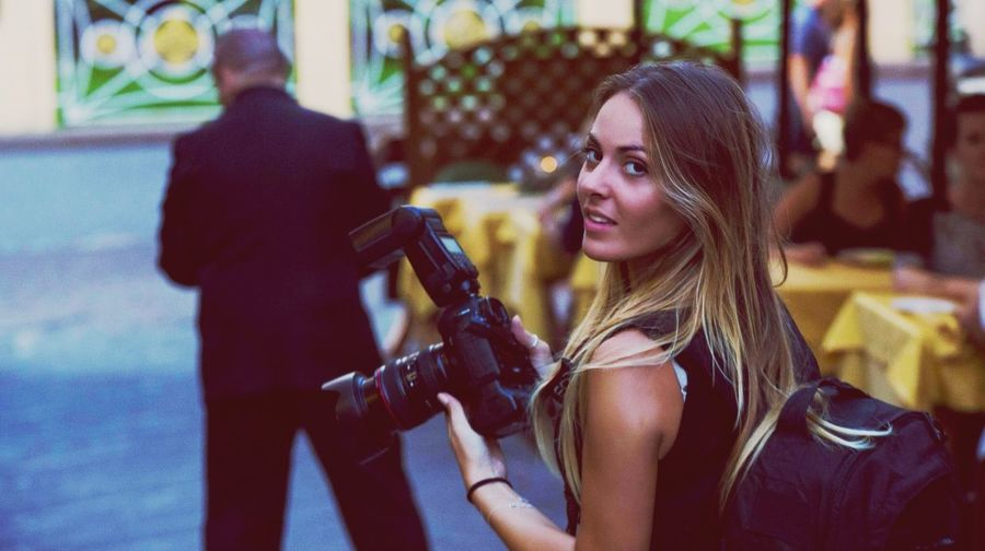 ? Photographer Portrait Photo Working