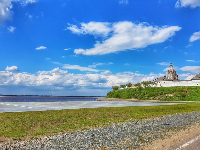 Sea Beach Sky Cloud - Sky Travel Destinations Vacations Outdoors Day Blue Travel Water No People Summer Architecture Nature Tranquility Horizon Over Water Building Exterior Scenics Beauty In Nature Kazan Russian Federation Russia Tatarstan
