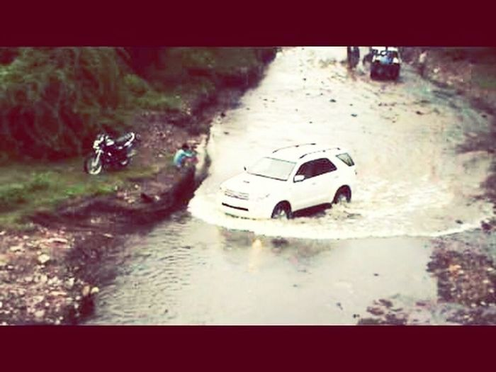 Offroading My Car♥ Toyota Fortuner Now Thats A Great View!