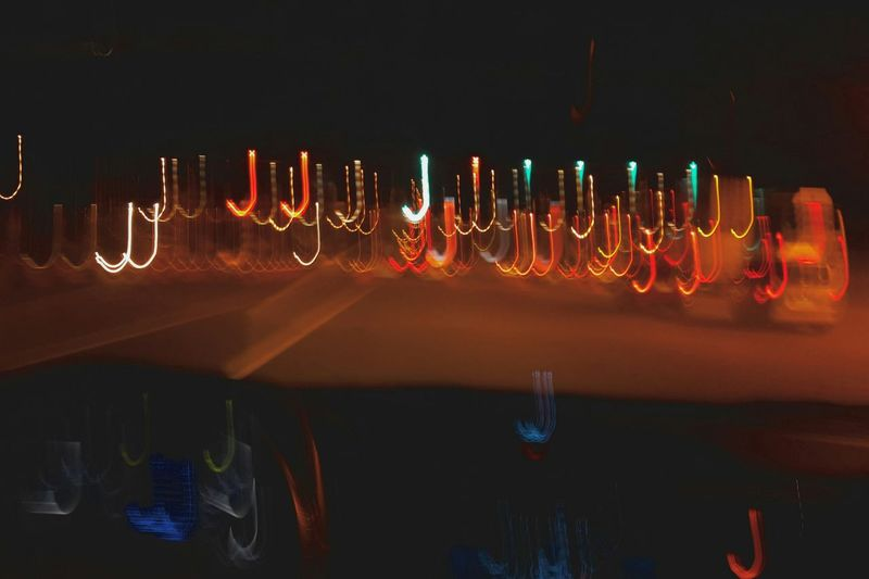 A beautiful illusion of lights... Night Illuminated Multi Colored Motion Transportation Cellphone Photography Visualsoflife Photographylovers EyeEm Gallery Taking Photos EyeEm EyeemPhilippines City Life Blurred Motion City The Street Photographer - 2018 EyeEm Awards Capture Tomorrow