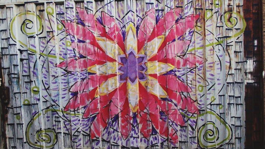 Mypaint Mypaintwork Pintura Flor Mandala Colors Cores Pintura Portão