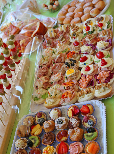 buffet with many trays overflowing with sweet pastries and sandwiches Buffet Time Fat Food Happy Birthday Obesity Sandwich Sandwiches Snack Abundace Abundance Abundance Of Abundanceof Food Abundant Buffe Buffet Buffet Dinner Buffet Food Food Foods Party Pastry Sandwisandwi Special Event Table Trays Trays Of Food