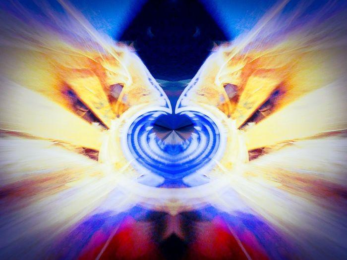 Blue Symmetry
