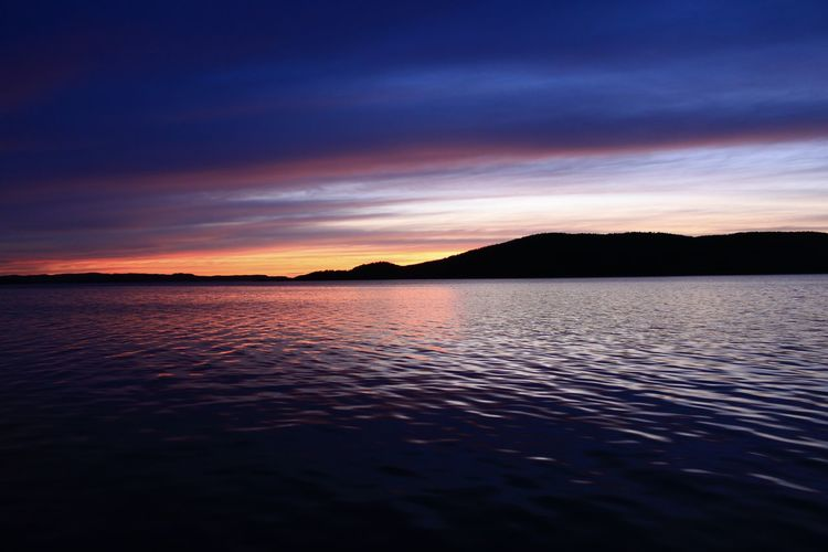 Sun down Newfoundland Canada Atmosphere Atmospheric Mood Beauty In Nature Calm Distant Idyllic Lake Landscape Landscape_Collection Light Majestic Nature Outdoors Reflection The Great Outdoors With Adobe Scenics Sea Silhouette Sunset Sunset_collection Tranquil Scene Tranquility Water Waterfront Landscapes With WhiteWall