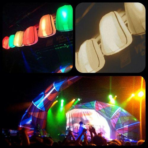 Animal Collective light show