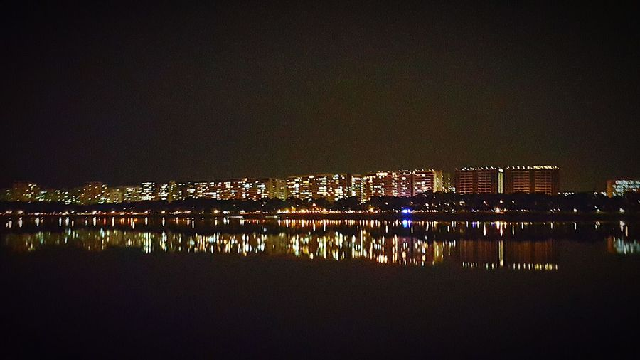 Bedok, Singapore Here Belongs To Me Landscape Water Reservoir Reflection Reflections In The Water City Cityscapes Home