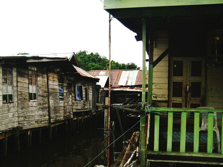 Brunei Bruneidarussalam Cityonwater Dwellings Traveling