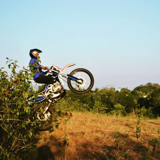 Motocross practice before enduro time :) Motocross Trail Trial Motortrail Enduro Adventure Serang
