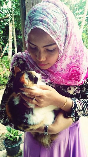 Me with my meaw cat Meaow! Catlover Kisses Hug
