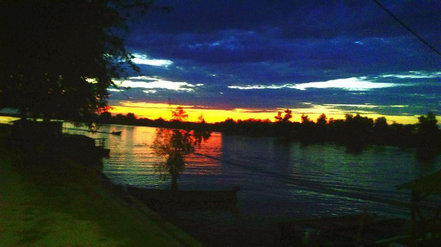 Danube Delta colour life sunset blue sky Enjoying Life Cobalt Blue