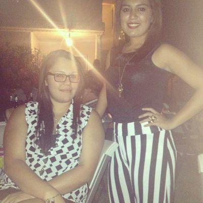 LastNight with my baby girl @la_vanie Bff Black &white BADGİRLS Salud