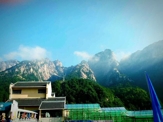 Mountains And Sky Enjoying Life Trip Photo黄山之景