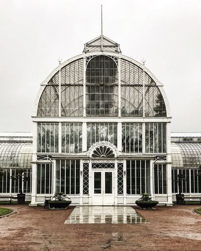 EyeEm Best Shots Sweden Travel Photography Victorian Architecture Building Building Exterior Built Structure City Entrance Façade Gothenburg Greenhouses History Horticultural No People Palmhuset Sky The Past Travel Travel Destinations Window The Traveler - 2018 EyeEm Awards