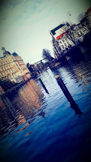 Amsterdam December 2016 Day Water Sky No People Outdoors Tranquil Scene