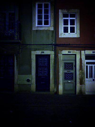 Door at Night