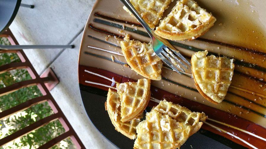 Morning Waffles First Eyeem Photo