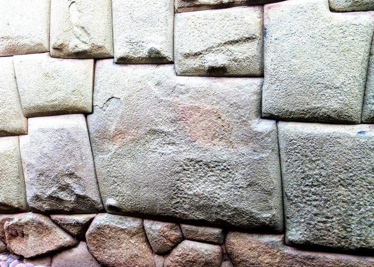 La roca de 12 angulos Consteuction Built Structure Pared Wall Muro  Inca 12 Angulos Cortes Perfectos De Rocas
