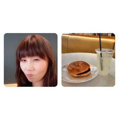 今早搞怪吃 早餐 朝食 Breakfast