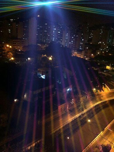 Lights Shining Downtown