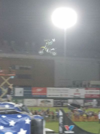Road Action Shot  Nitrocircuslive Dirt Bike Fmxrider City Life
