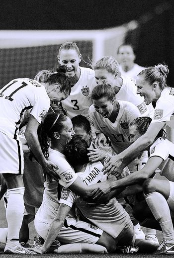 I will never get over them. USWNT