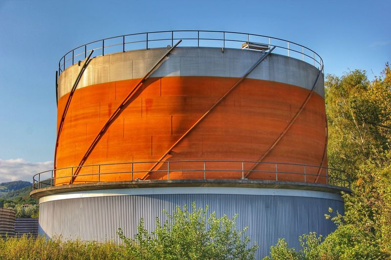 Sky Storage Tank No People Built Structure Nature Architecture Day Industry Factory Fuel Storage Tank