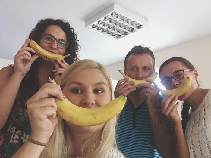 Banana Food Work Corporeality Teammates