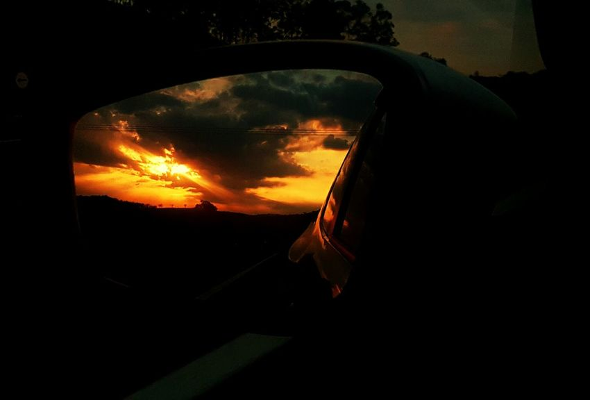 Night Car Sunset Goodnight