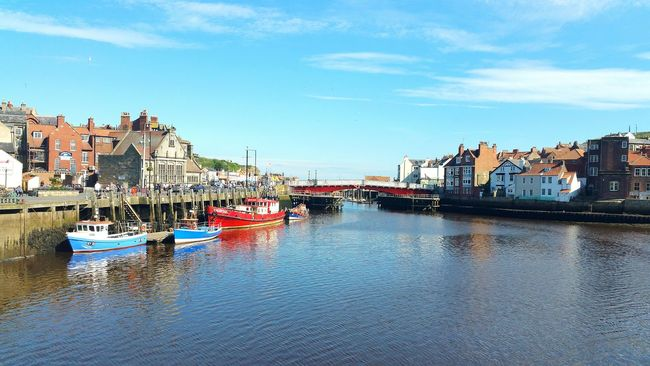 Nautical Vessel Travel Destinations Harbor Sea Water Outdoors Walking Around Whitby View Whitby Whitby North Yorkshire
