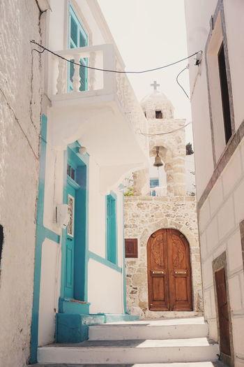 greek street Greece Nisyros City Scenics Building Exterior No People Architecture Greek Islands Travel Destinations Church Greek Church