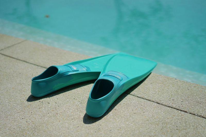 Diving fin Blue