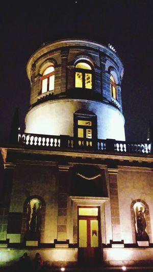 Maximiliano. Architecture Built Structure Low Angle View History Night Building Exterior No People Illuminated CDMX. Mexico Day Fotography Fotografia Bosque Castillo De Chapultepec Castillo Castle