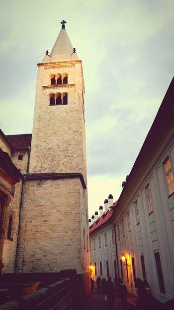 Architecture Religion Spirituality Tower Building Exterior Architecture Praha Prague Castle