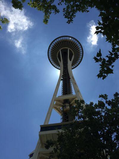 Seattle Seattle Space Needle Seattle Sky