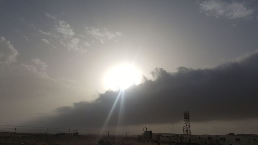 Hi Samsungphotography Samsung Galaxy Note 5 Friend Sunrise Landscape Happy Time Fog Water Sky Lightning Sunbeam