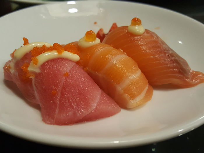 Plate Food Freshness Healthy Eating Sushi Organic Food Japanese Food