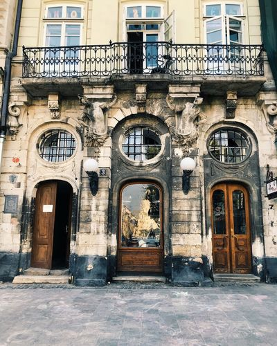 Built Structure Architecture Building Exterior Building Window Arch Day Entrance Door City Old History The Past