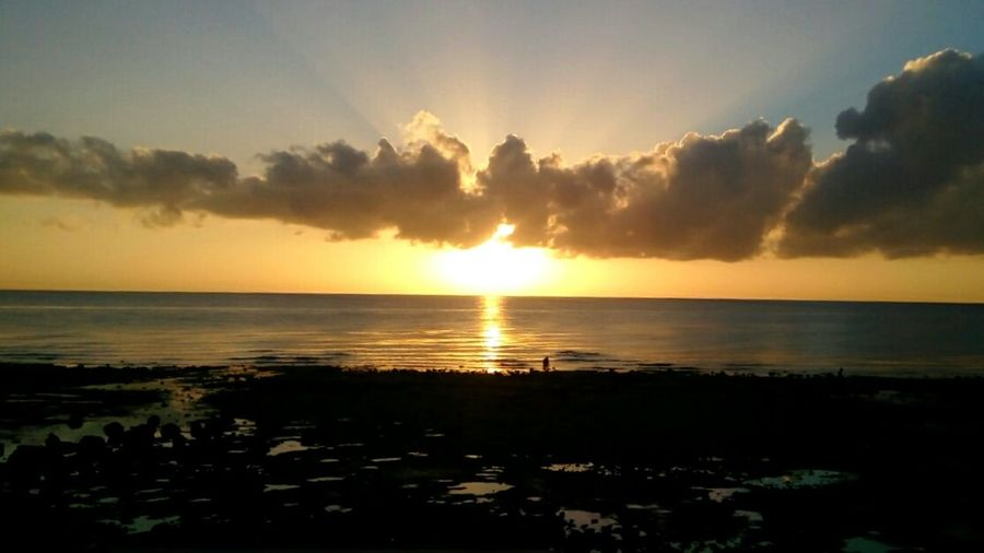 Early morning sunrise near the sea in danao Early Morning Golden Sunrise GoldenSunrise Beautiful Seaside Lowtide  Peaceful Peace Ambient Happy Cool Takealookatthis Lookatthis Checkthisout Breathtaking